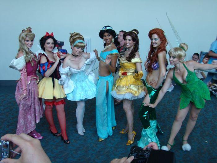 Las Princesas de Disney Sexys