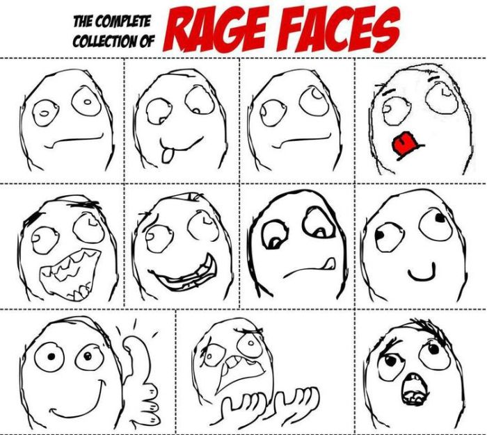 brief history of the Rage Comic