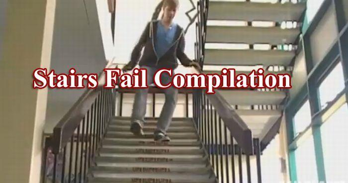 recopilación de caidas de las escaleras