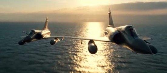 Реактивные истребители в полёте